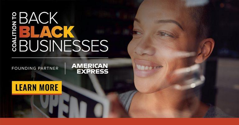 amex back black